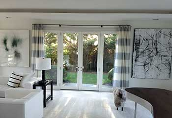 Blinds for French Doors | Northwood | Tustin Blinds & Shades